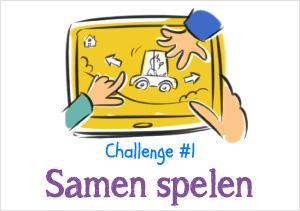 Challenge #1: samen spelen!
